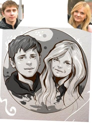 Заказать портрет на годовщину свадьбы в Иркутске
