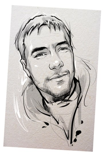Портрет карандашом любимому мужу в Иркутске…