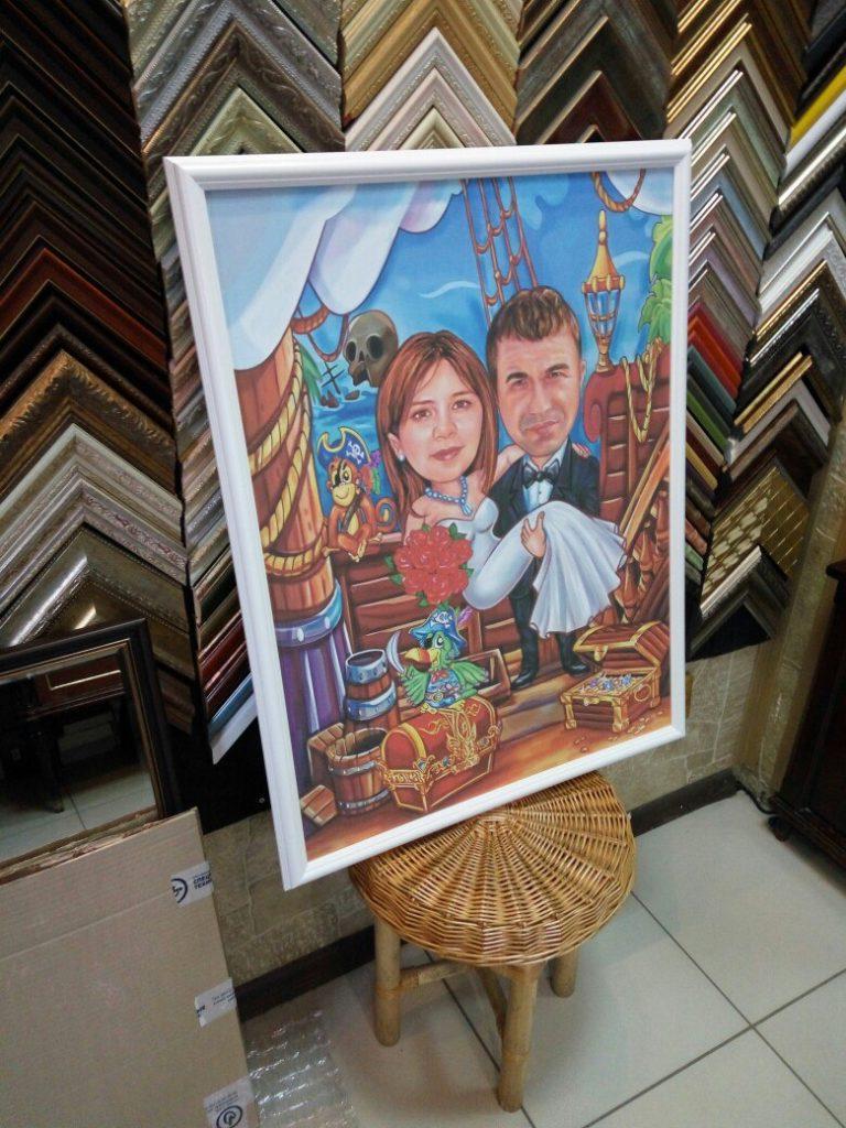 портрет шарж на заказ в иркутске