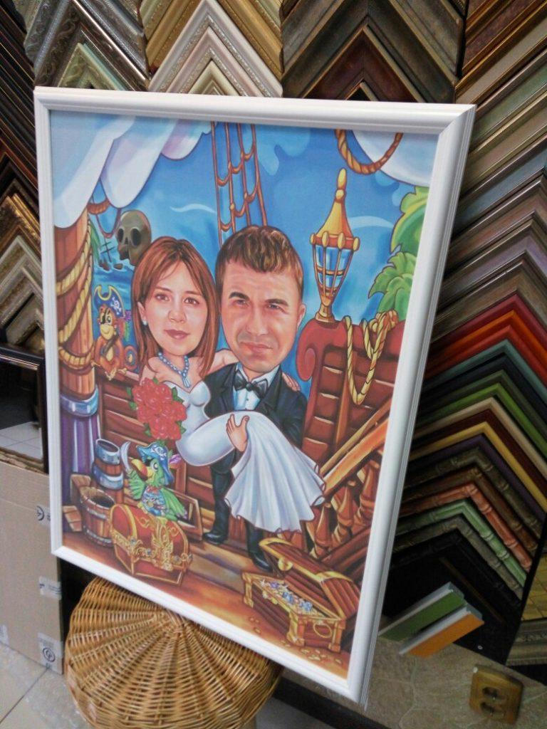 шарж по фото на заказ в иркутске