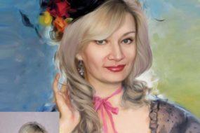 Заказать арт портрет по фото на холсте в Иркутске…