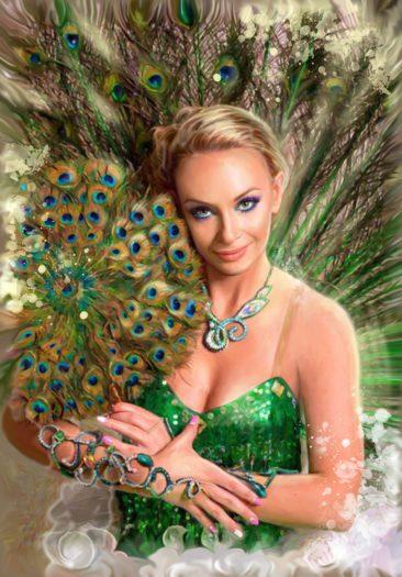 Портрет по фото, подарок на 14 февраля заказать Иркутск