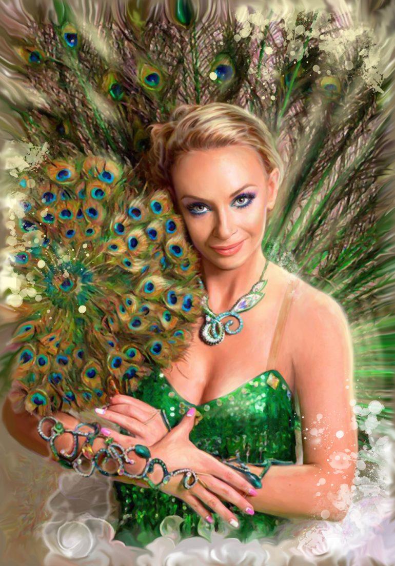 Портрет по фото, подарок на 14 февраля. Заказать в Иркутске