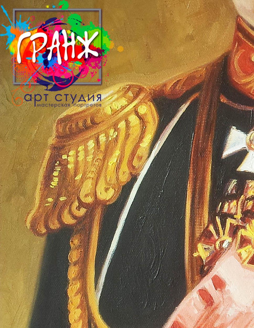 Заказать портрет маслом по фотографии в Иркутске