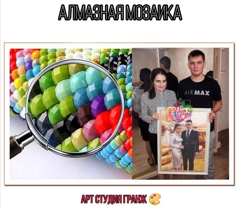 Алмазная мозаика по фото заказать в Иркутске